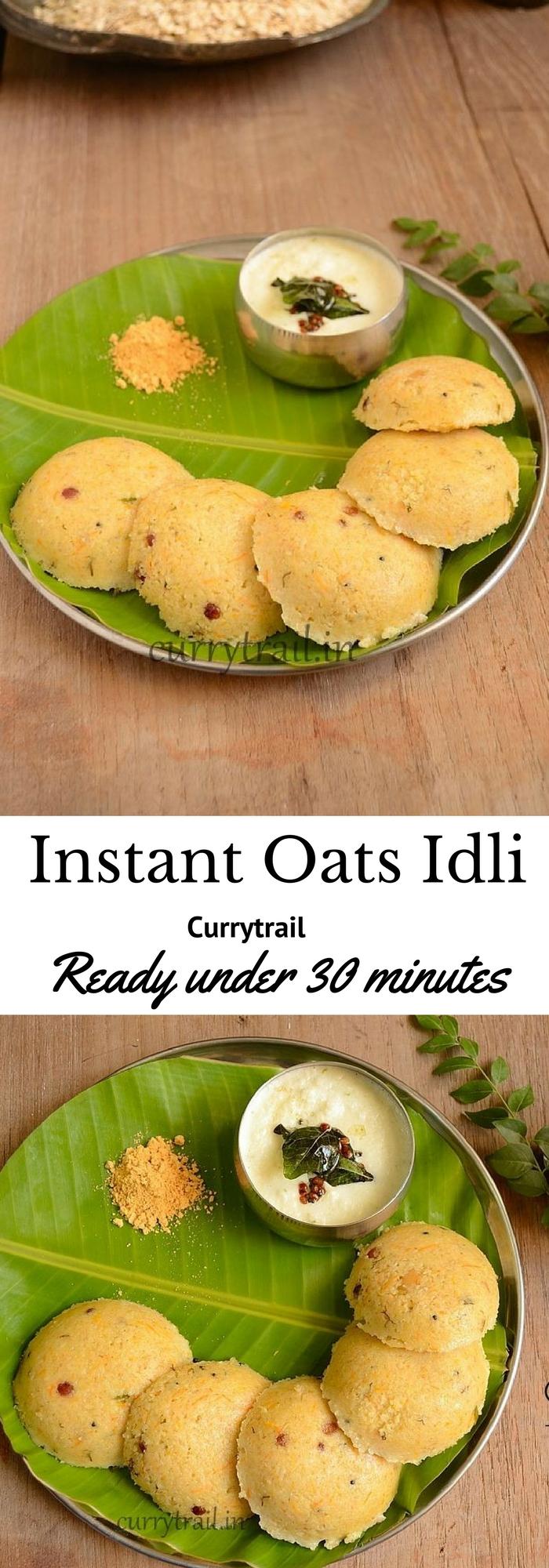 Instant Oats Idli