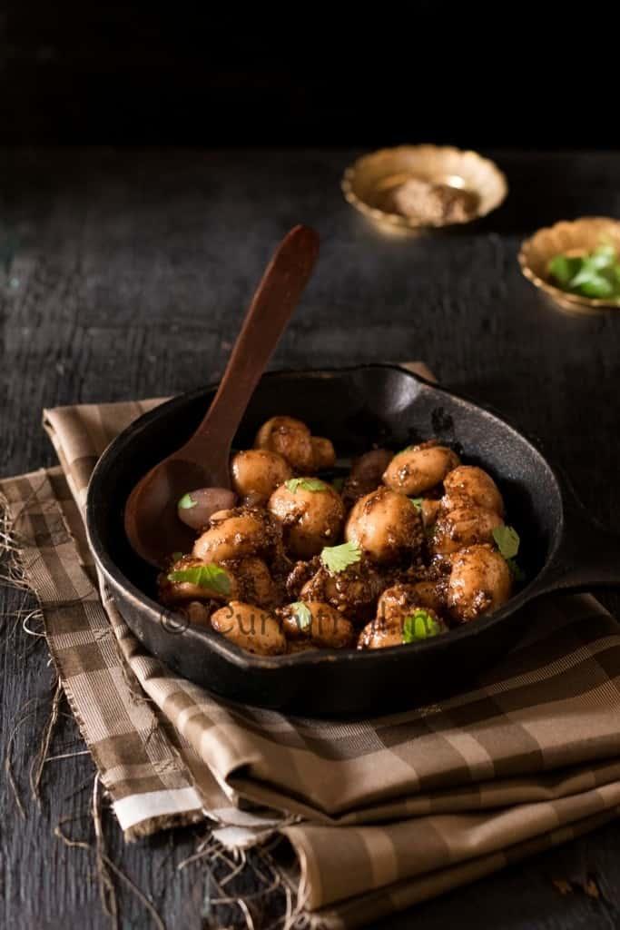 Garlicky Pepper Mushroom Stir Fry
