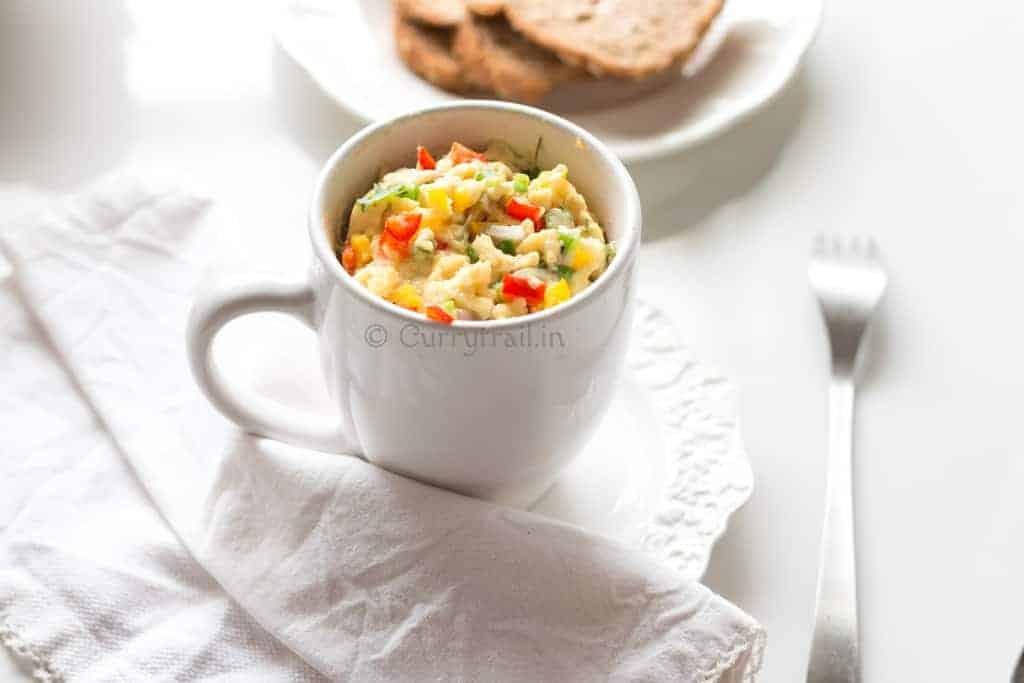 Egg Omlette in a Mug