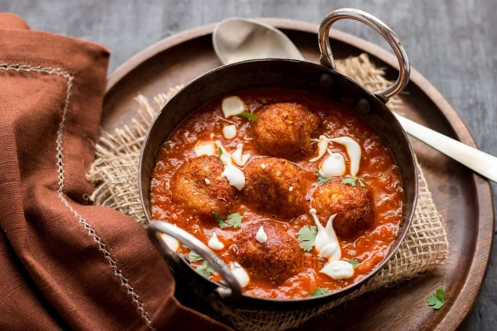 Cauliflower Paneer Kofta Curry