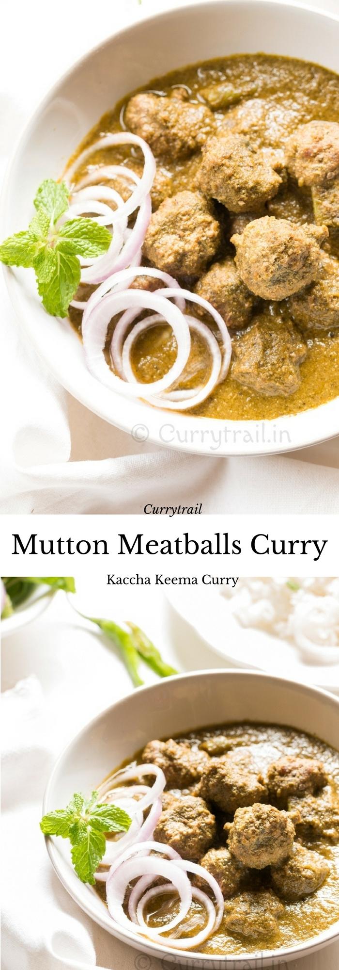 Kaccha Keema Curry