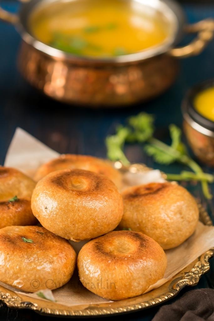 Baked Vivatta Whole Wheat Masala Baati