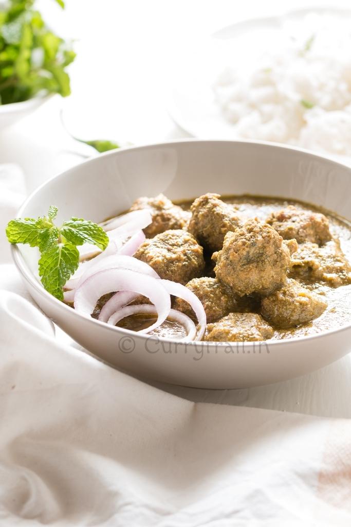 Kaccha Mutton Keema Curry