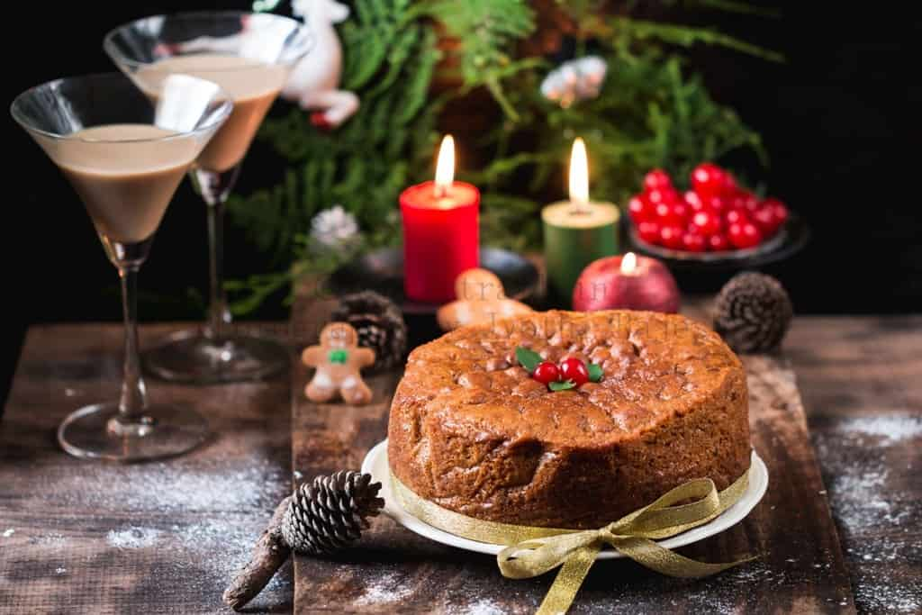 Christmas Rich Rum Fruit Cake