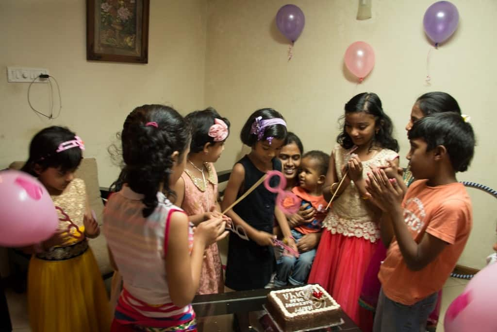 Daughters bday celebration