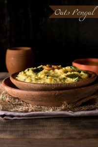 Oats Vegetable Pongal