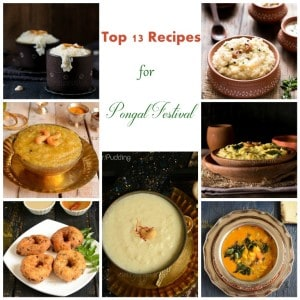 Pongal Recipes Collage