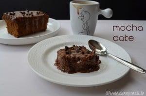 One bowl mocha cake