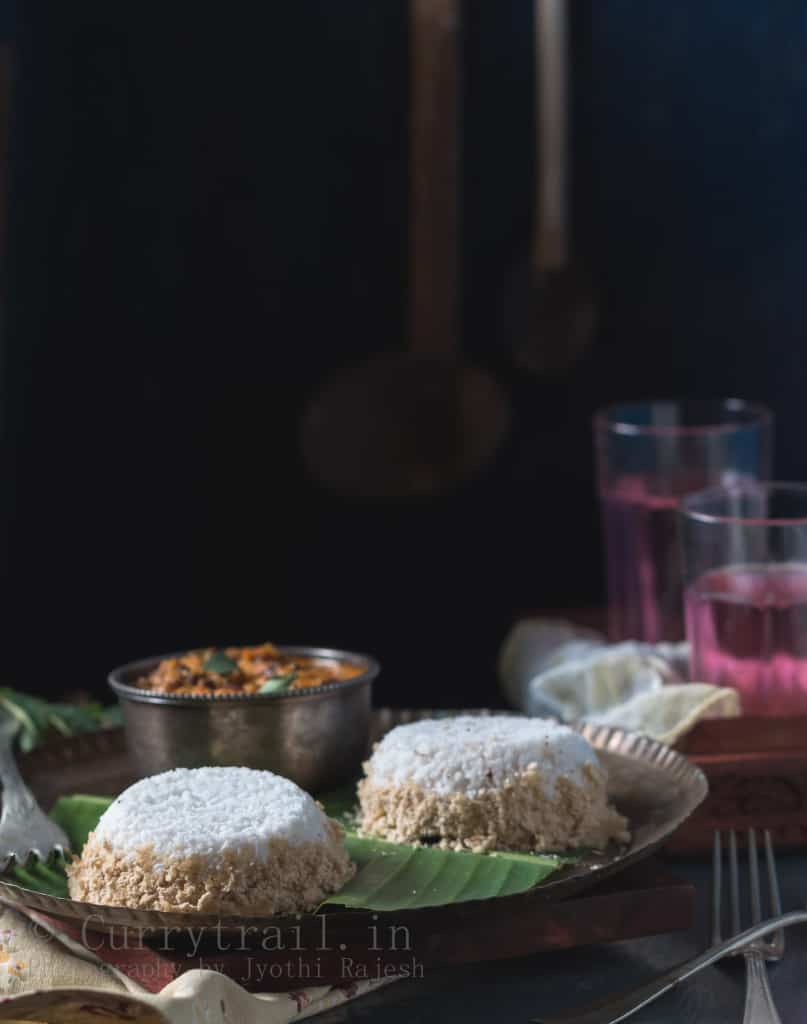Whole Wheat Flour Puttu