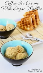 coffee-ice-cream-with-sugar-waffles
