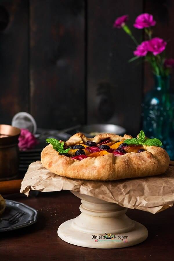 Mixed Fruit Galette