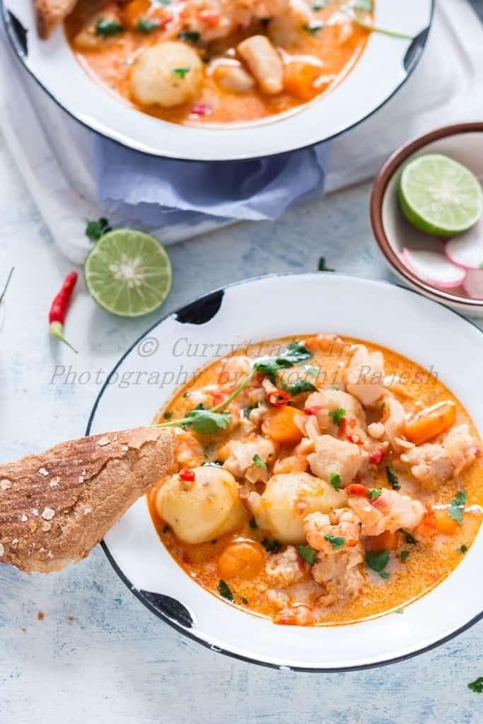 Seafood Stew Casserole