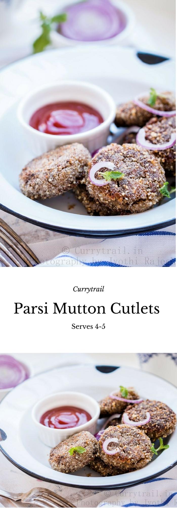 Parsi Mutton Cutlets