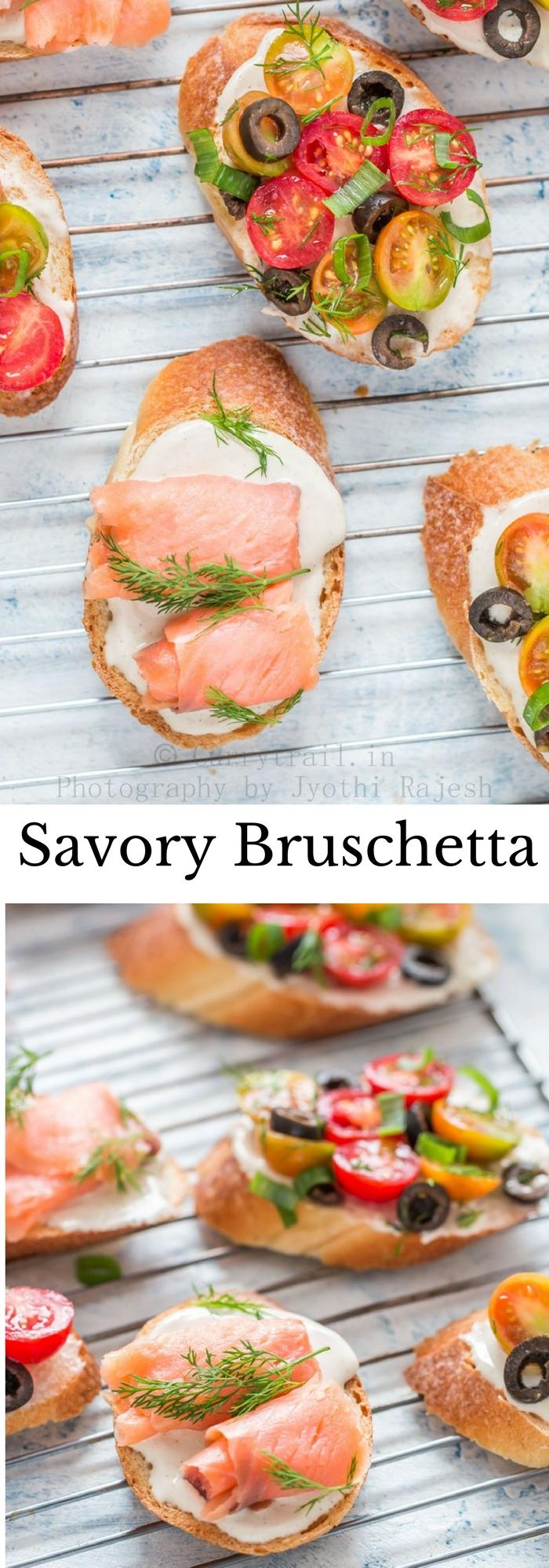 Savory Bruschetta