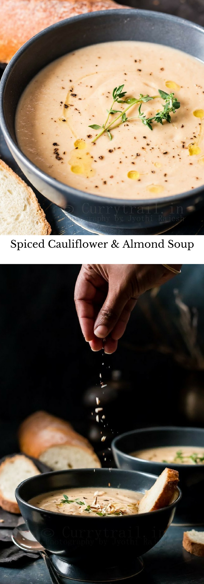 Spiced Cauliflower & Almond Soup