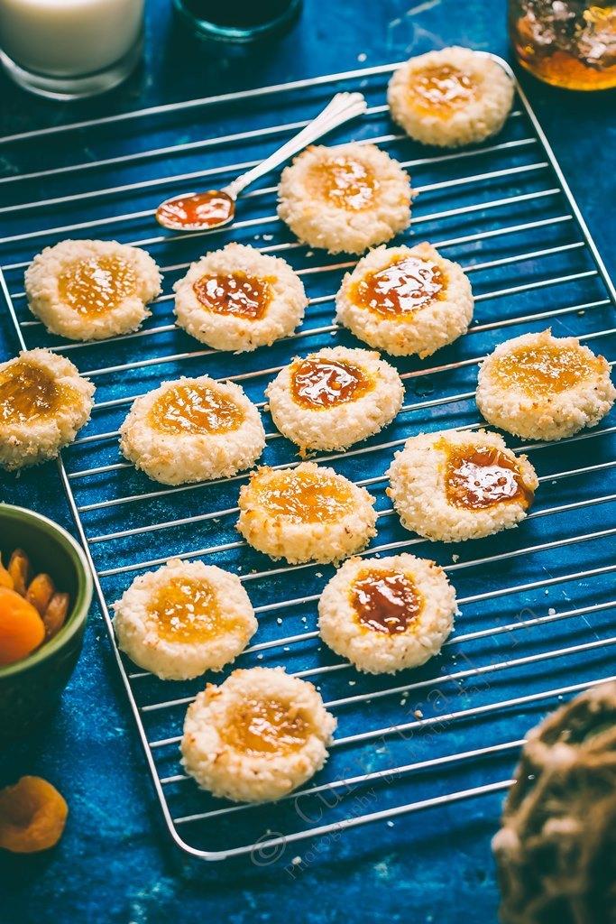 Coconut Thumbprint Cookies_4