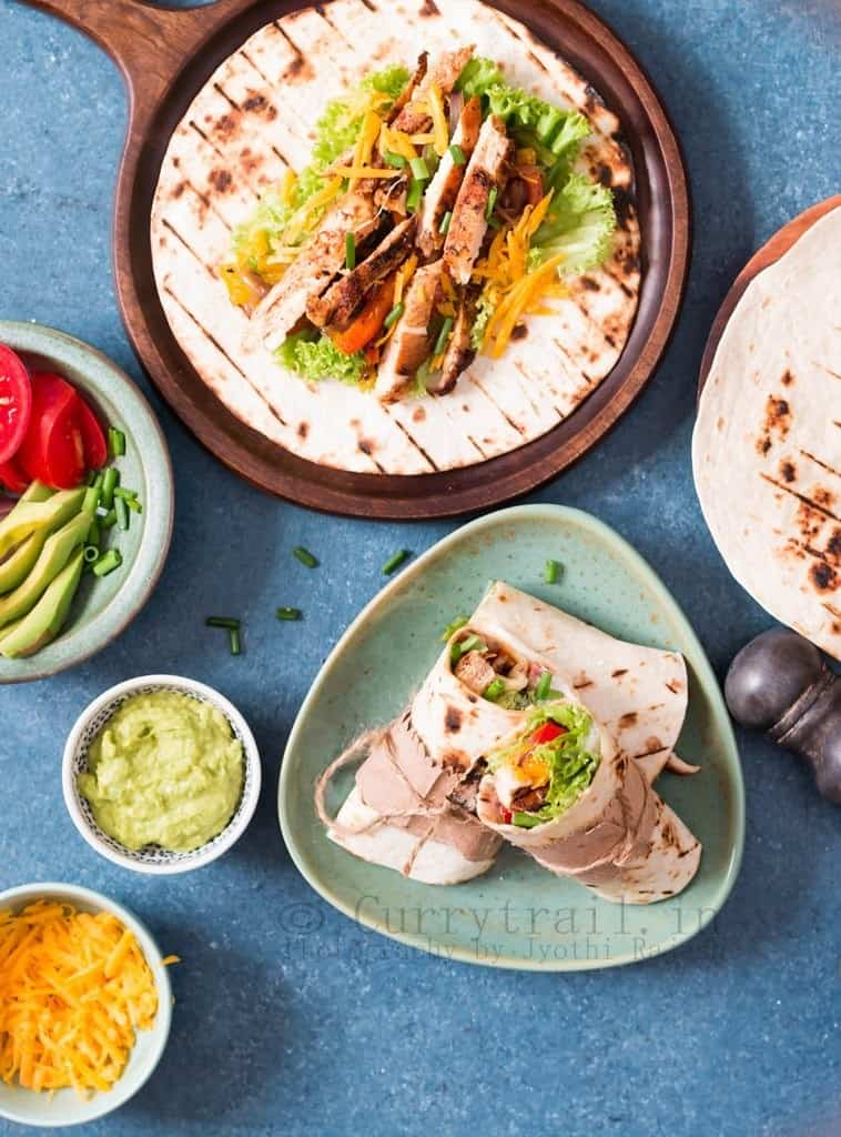 Mexican Chicken Fajitas 1
