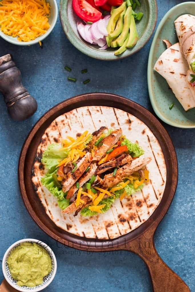 Mexican Chicken Fajitas 4