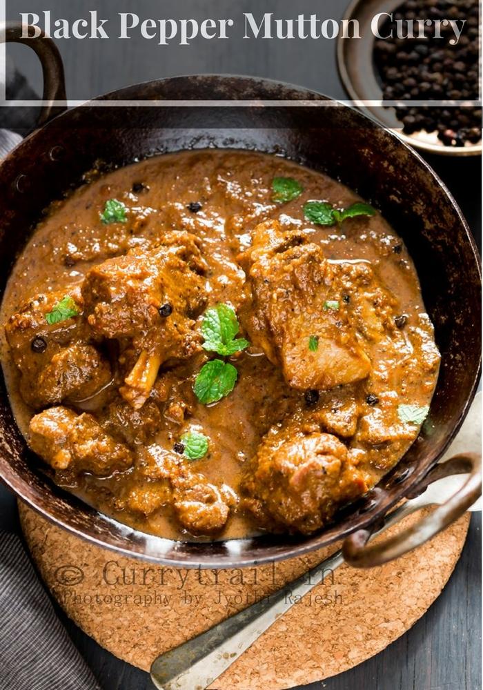 Black Pepper Mutton Curry