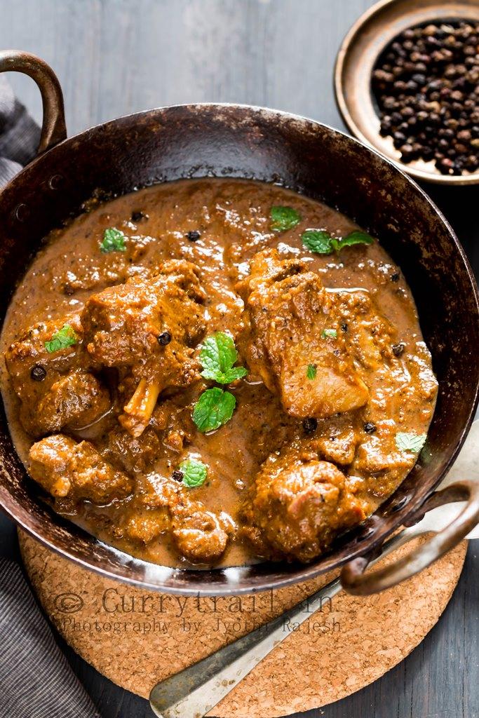 Black pepper mutton curry_1