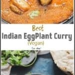 Indian Egg Plant Curry Pin