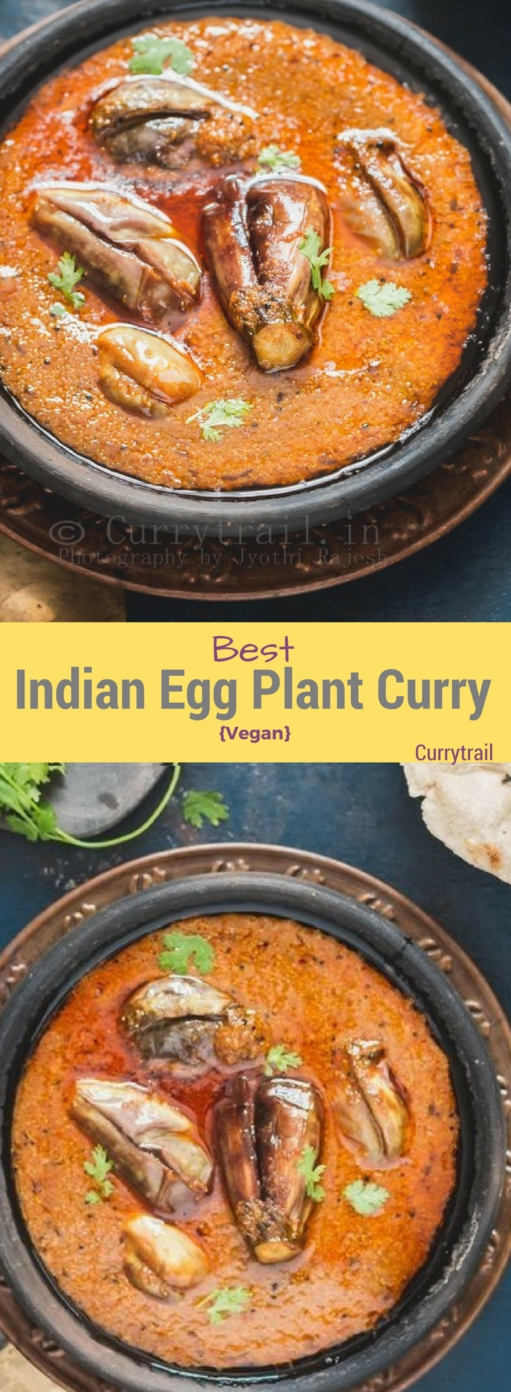 South Indian Egg Plant Curry Pin