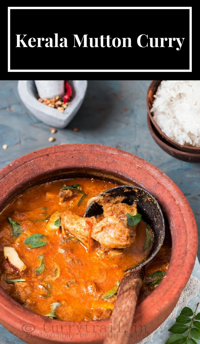 Kerala Varutharacha Mutton Curry