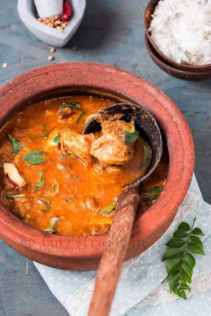 Kerala Varutharacha Mutton Curry_2