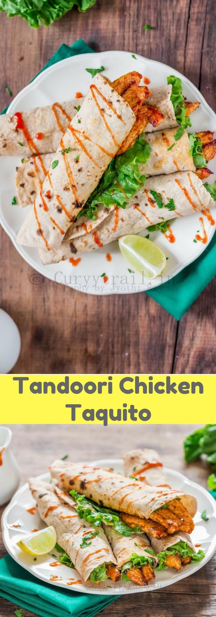 Tandoori Chicken Taquito (2)