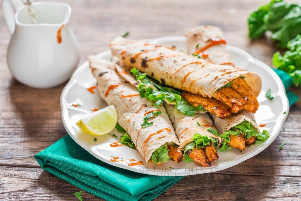 Tandoori Chicken Taquito_2