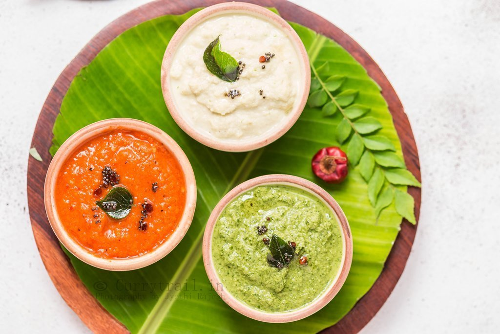 3 breakfast chutney varieties