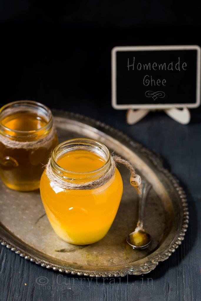 simple homemade ghee