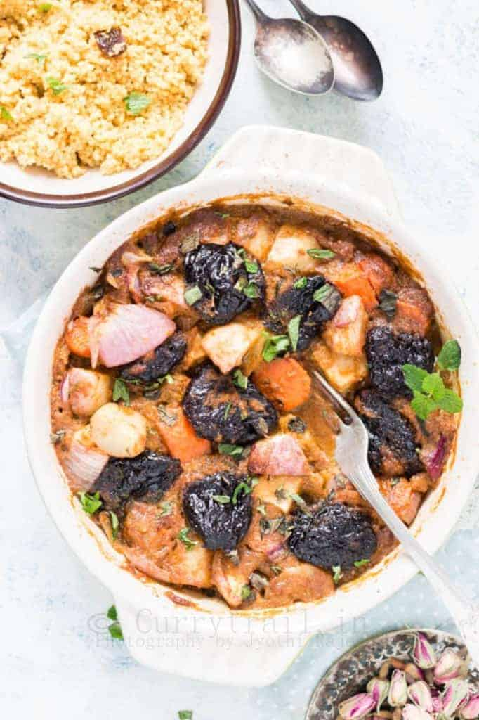 Vegetable Tagine with Prunes_3