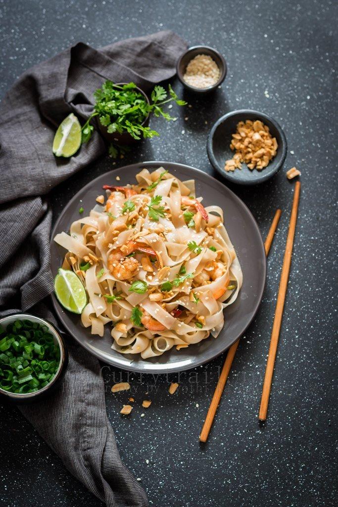 Pad Thai Prawns Noodles