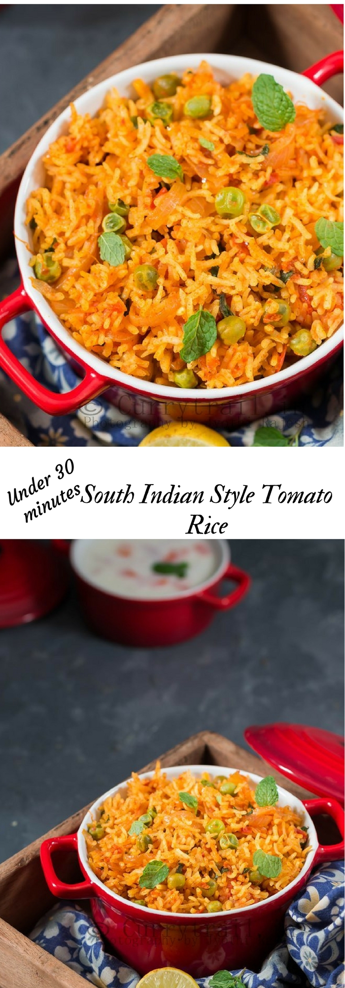 Tomato Rice with text overlay