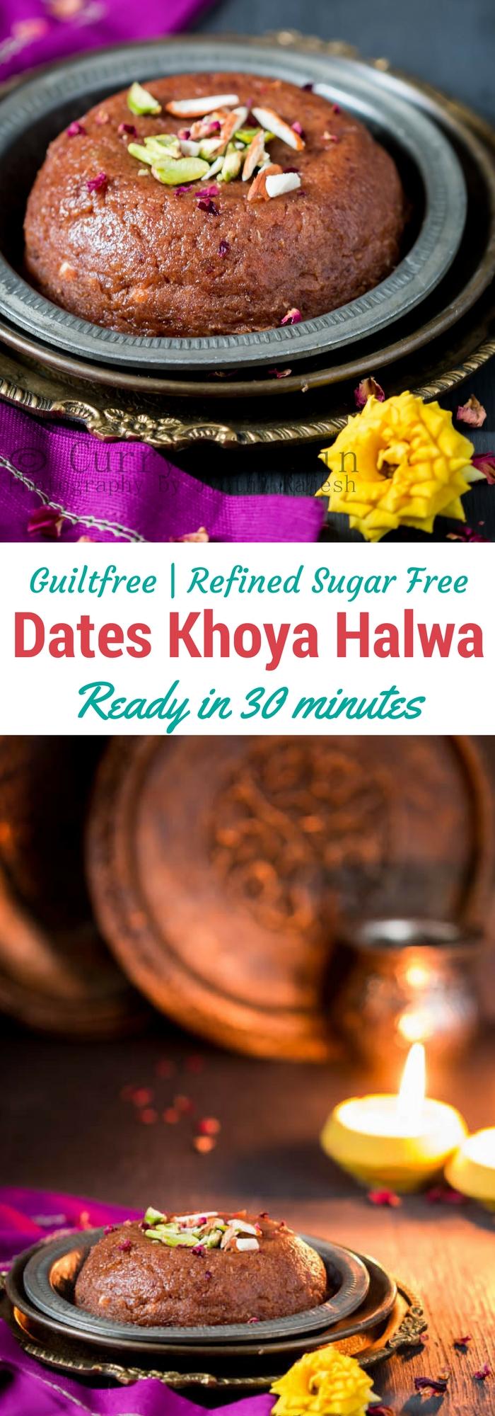 Dates Khoya Halwa