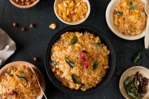 Poha and Corn Chivda