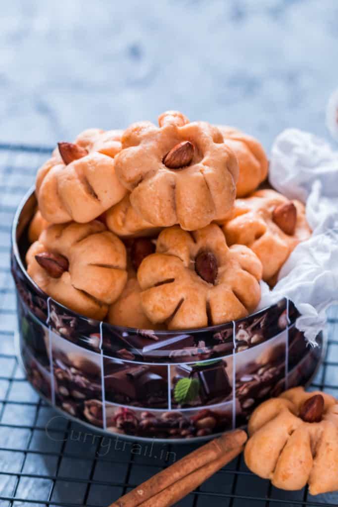 Pumpkin Almond Cookies 3