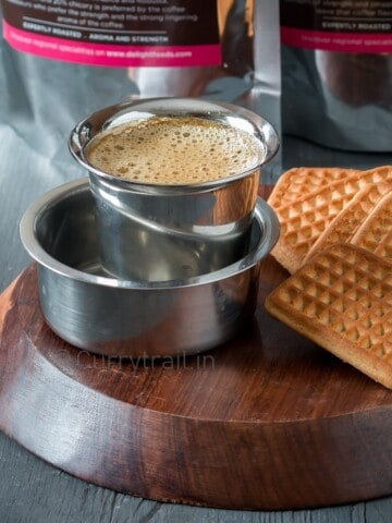 how to make filter coffee at home