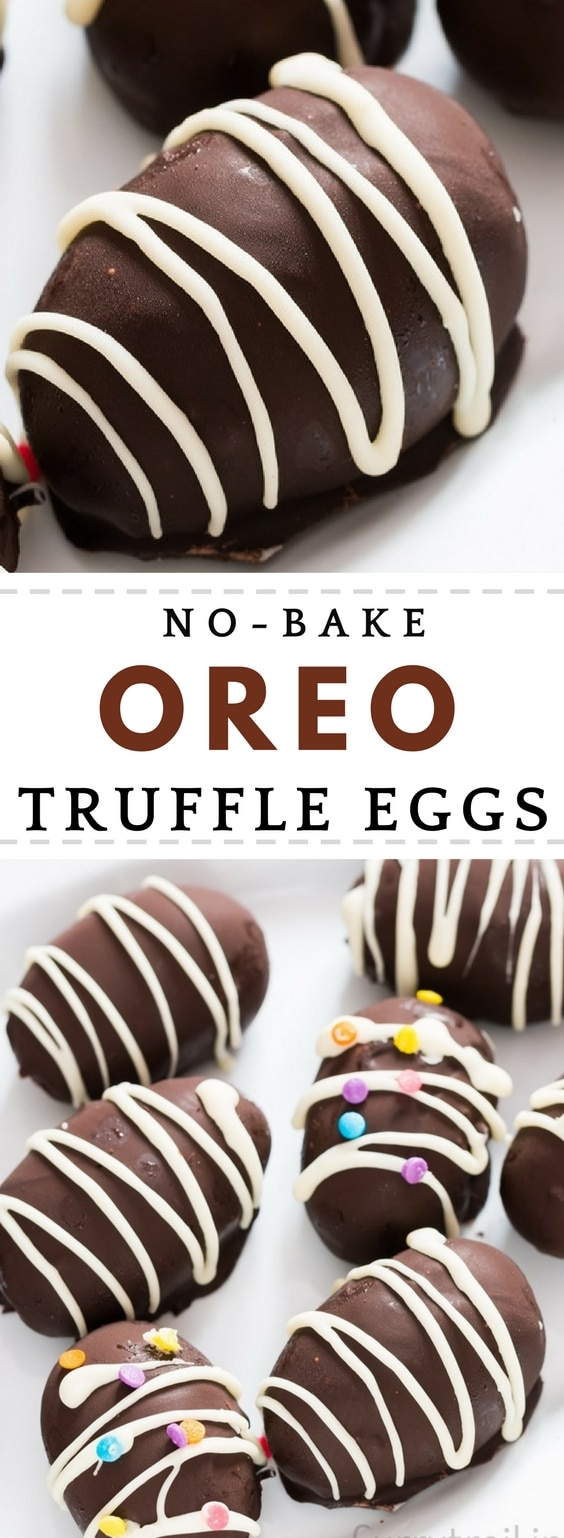 This no bake OREO truffles eggs are sinful! Utterly effort less, immensely delicious. Folks, get ready to sin.