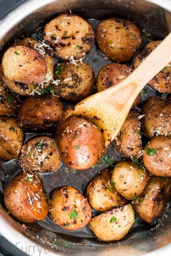 instant pot potatoes roasted