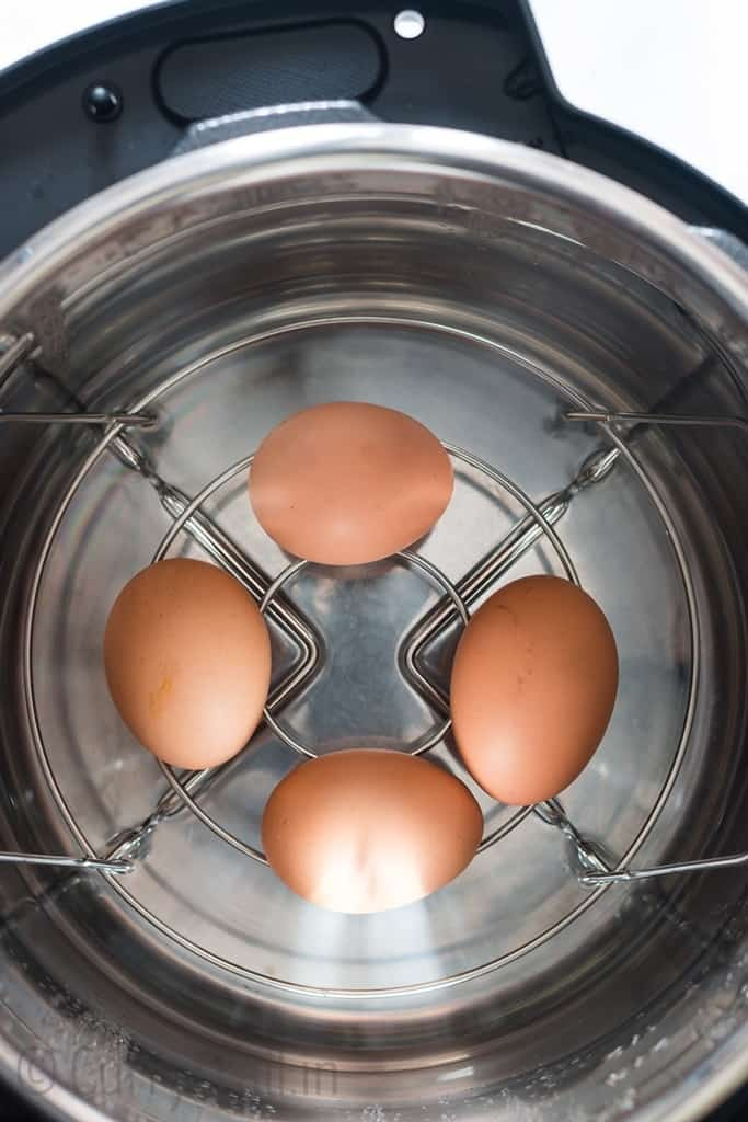 instant pot hard boiled eggs