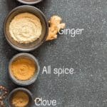 all spices for homemade pumpkin pie spice