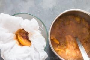 straining instant pot spiced apple cider
