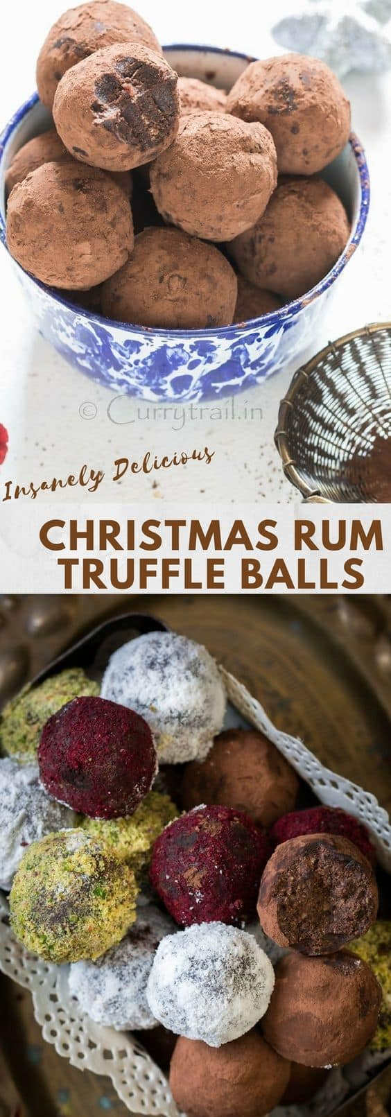 Christmas Rum Balls is simple to make and guaranteed to wow your guests