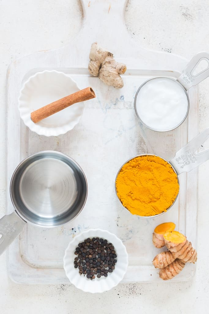 turmeric paste recipe ingredients