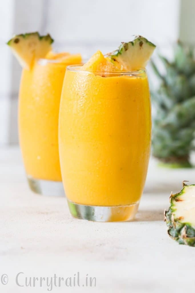 anti-inflammatory pineapple smoothie