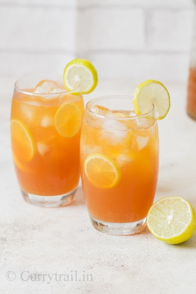 Southern sweet lemon iced tea recipe is perfect summer thirst quencher