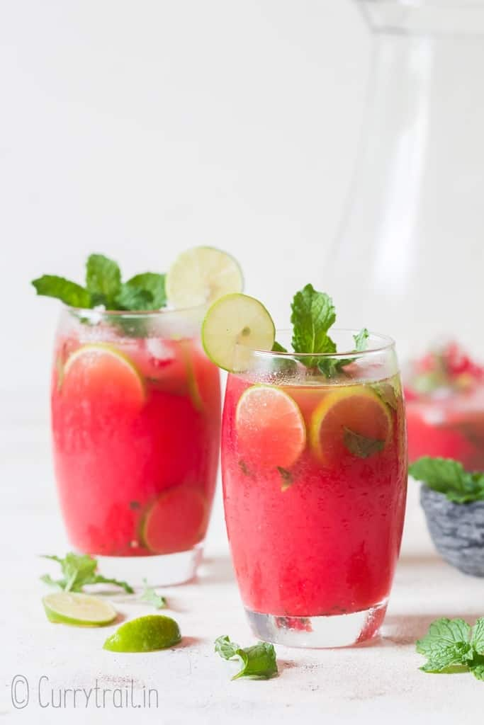 light and refreshing watermelon mojito recipe