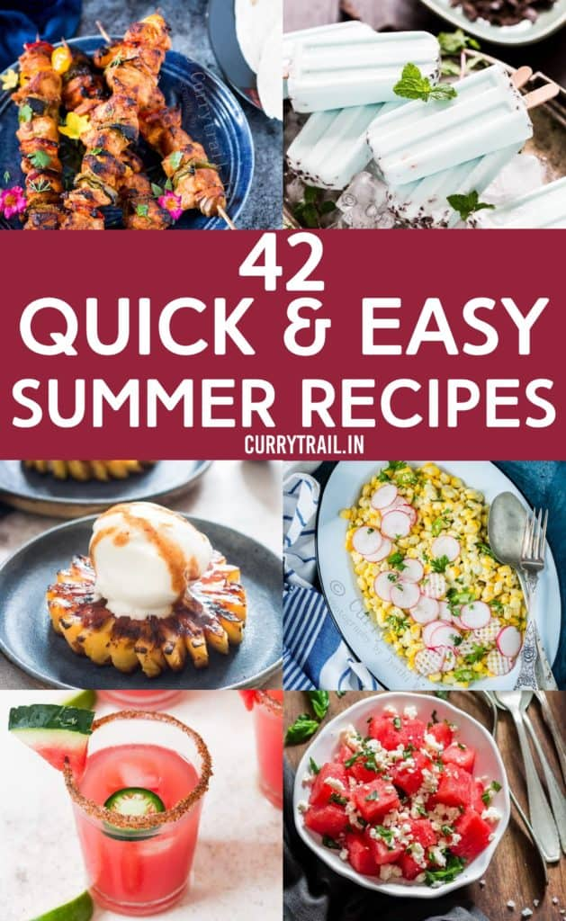 collection of 42 best summer recipes